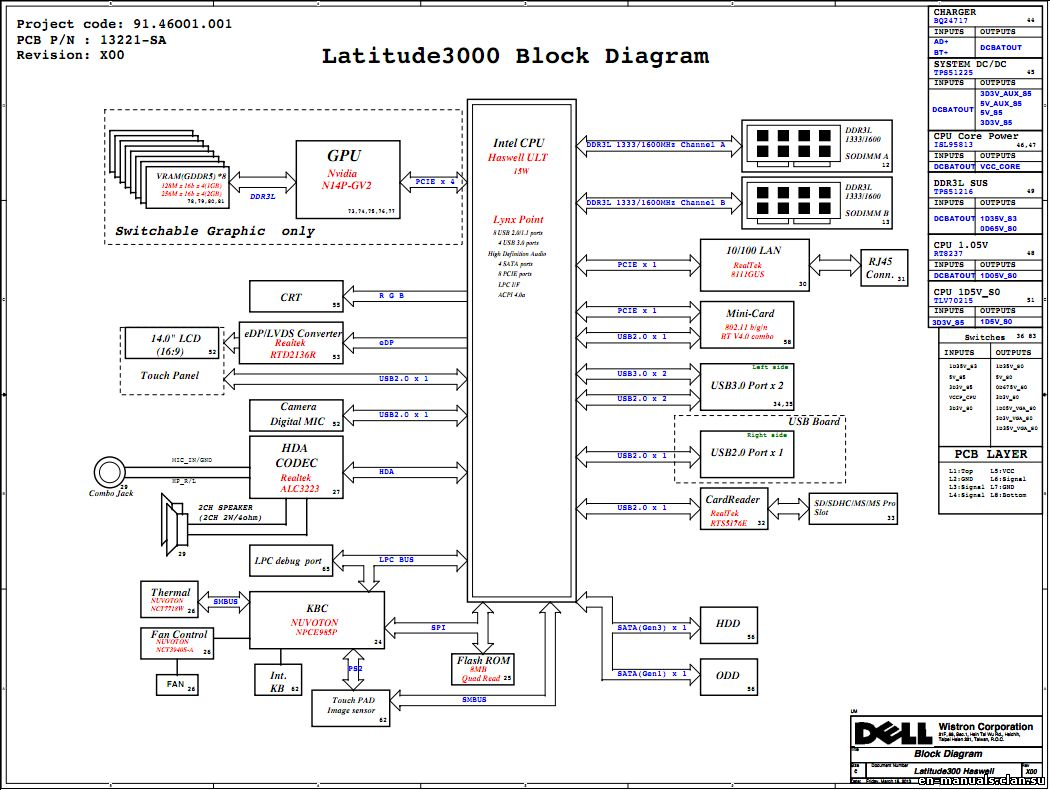 schematics for dell latitude 3440 in the online store at a