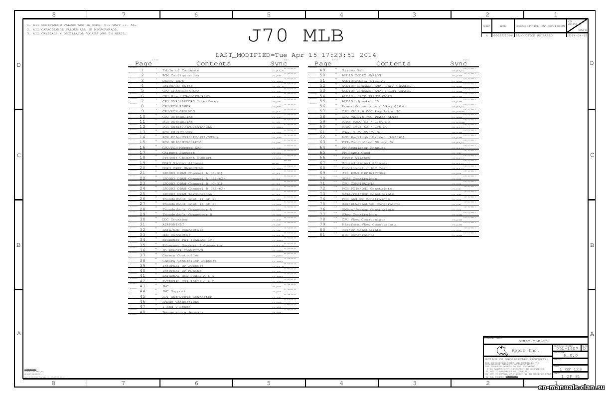 schematics for apple imac 21 5 a1418 in the online store