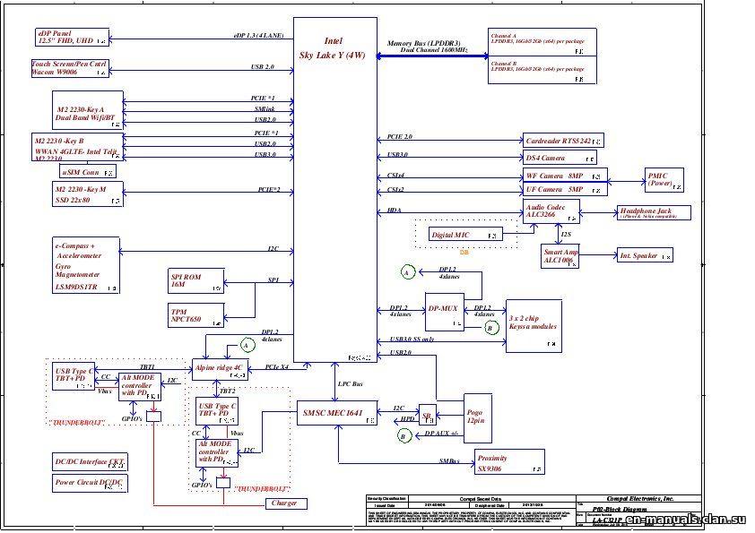 Schematics For Dell Latitude 12 7275    Dell Xps 12 9250 In