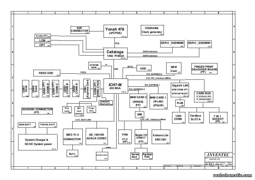 schematics for hp  compaq nx6310    nc6320    nx6320 in the