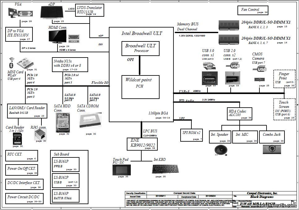 Schematics For Acer Aspire E5  Aspire V3